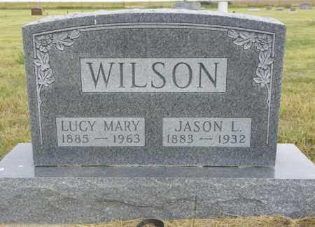 WILSON, LUCY MARY - Washington County, Colorado | LUCY MARY WILSON - Colorado Gravestone Photos