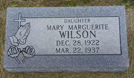 WILSON, MARY MARGUERITE - Washington County, Colorado | MARY MARGUERITE WILSON - Colorado Gravestone Photos