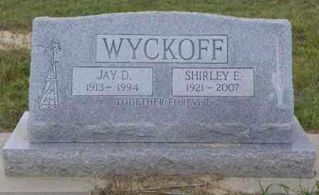 WYCKOFF, JAY D - Washington County, Colorado | JAY D WYCKOFF - Colorado Gravestone Photos