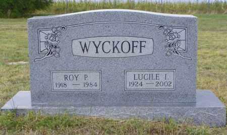 WYCKOFF, ROY P - Washington County, Colorado | ROY P WYCKOFF - Colorado Gravestone Photos