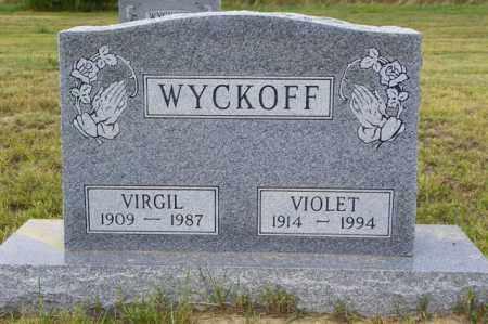 WYCKOFF, VIRGIL - Washington County, Colorado | VIRGIL WYCKOFF - Colorado Gravestone Photos