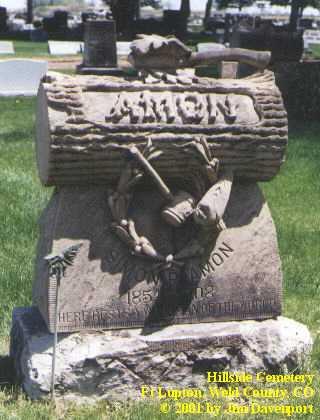 AMON, SOMON - Weld County, Colorado   SOMON AMON - Colorado Gravestone Photos