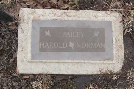 BAILEY, HAROLD - Weld County, Colorado | HAROLD BAILEY - Colorado Gravestone Photos