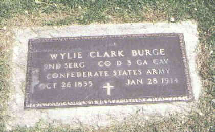BURGE, WYLIE CLARK - Weld County, Colorado | WYLIE CLARK BURGE - Colorado Gravestone Photos