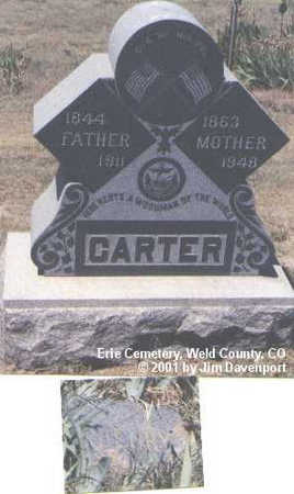 CARTER, HENRY - Weld County, Colorado | HENRY CARTER - Colorado Gravestone Photos