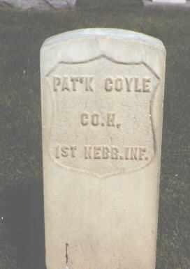 COYLE, PAT'K - Weld County, Colorado | PAT'K COYLE - Colorado Gravestone Photos