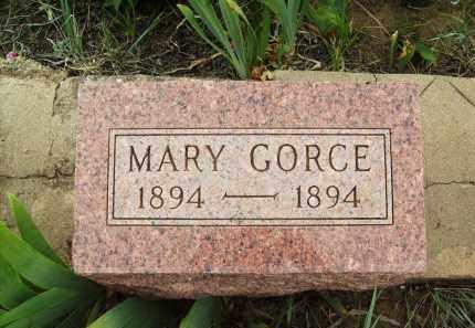 GORCE, MARY - Weld County, Colorado | MARY GORCE - Colorado Gravestone Photos
