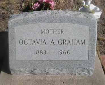 GRAHAM, OCTAVIA A. - Weld County, Colorado | OCTAVIA A. GRAHAM - Colorado Gravestone Photos