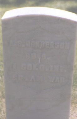 HENDERSON, A. S. - Weld County, Colorado | A. S. HENDERSON - Colorado Gravestone Photos