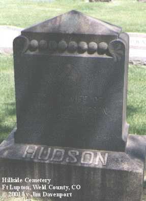 HUDSON, EDNA C. - Weld County, Colorado | EDNA C. HUDSON - Colorado Gravestone Photos