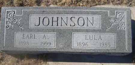 JOHNSON, EARL A. - Weld County, Colorado | EARL A. JOHNSON - Colorado Gravestone Photos