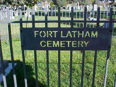 LATHAM, CEMETERY - Weld County, Colorado | CEMETERY LATHAM - Colorado Gravestone Photos