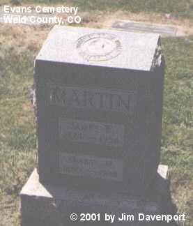MARTIN, MARY M. - Weld County, Colorado | MARY M. MARTIN - Colorado Gravestone Photos