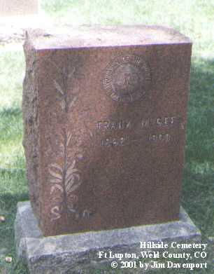 MCGEE, FRANK - Weld County, Colorado   FRANK MCGEE - Colorado Gravestone Photos