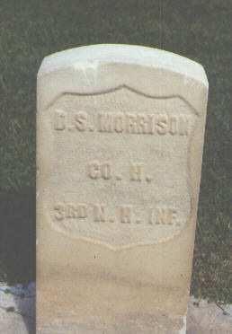 MORRISON, D. S. - Weld County, Colorado | D. S. MORRISON - Colorado Gravestone Photos