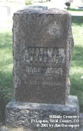POSORNOW, MARY A. - Weld County, Colorado | MARY A. POSORNOW - Colorado Gravestone Photos