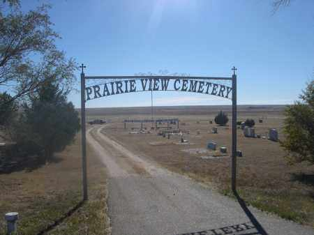 *PRAIRIE VIEW CEMETERY, ENTRANCE SIGN - Weld County, Colorado | ENTRANCE SIGN *PRAIRIE VIEW CEMETERY - Colorado Gravestone Photos