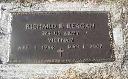 REAGAN, RICHARD R. - Weld County, Colorado | RICHARD R. REAGAN - Colorado Gravestone Photos