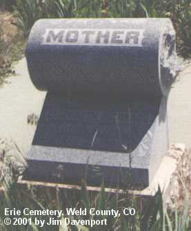 RICHARDS, ELIZABETH - Weld County, Colorado | ELIZABETH RICHARDS - Colorado Gravestone Photos