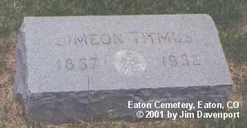 TITMUS, SIMEON - Weld County, Colorado   SIMEON TITMUS - Colorado Gravestone Photos