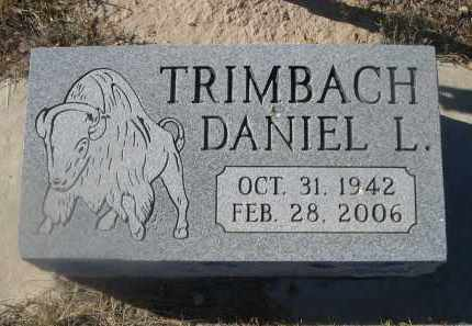 TRIMBACH, DANIEL L. - Weld County, Colorado | DANIEL L. TRIMBACH - Colorado Gravestone Photos