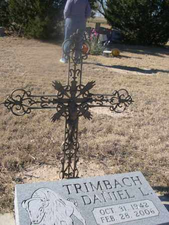 TRIMBACH, DANIEL L. - Weld County, Colorado   DANIEL L. TRIMBACH - Colorado Gravestone Photos