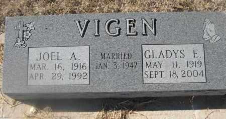 VIGEN, JOEL A. - Weld County, Colorado   JOEL A. VIGEN - Colorado Gravestone Photos
