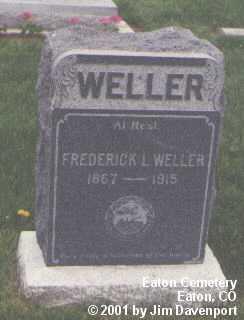 WELLER, FREDERICK - Weld County, Colorado | FREDERICK WELLER - Colorado Gravestone Photos