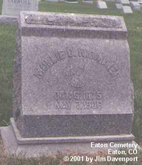 WIDMAIER, MOLLIE D. - Weld County, Colorado | MOLLIE D. WIDMAIER - Colorado Gravestone Photos