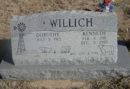 WILLICH, DOROTHY - Weld County, Colorado   DOROTHY WILLICH - Colorado Gravestone Photos