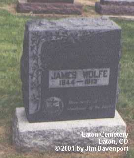 WOLFE, JAMES - Weld County, Colorado | JAMES WOLFE - Colorado Gravestone Photos