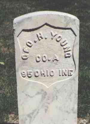 YOUNG, GEO. H. - Weld County, Colorado | GEO. H. YOUNG - Colorado Gravestone Photos
