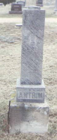 ANTRIM, MARTIN L. - Yuma County, Colorado | MARTIN L. ANTRIM - Colorado Gravestone Photos