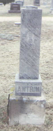 ANTRIM, MARTIN L. - Yuma County, Colorado | MARTIN L. ANTRIM - Colorado Gravestone Photos
