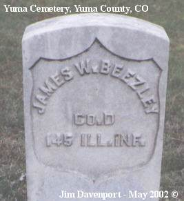 BEEZLEY, JAMES W. - Yuma County, Colorado | JAMES W. BEEZLEY - Colorado Gravestone Photos