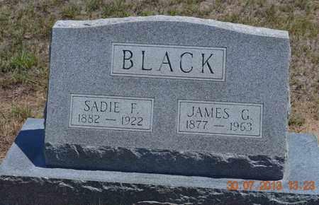 BLACK, JAMES G. - Yuma County, Colorado | JAMES G. BLACK - Colorado Gravestone Photos