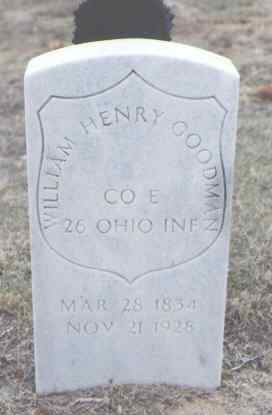 GOODMAN, WILLIAM HENRY - Yuma County, Colorado | WILLIAM HENRY GOODMAN - Colorado Gravestone Photos