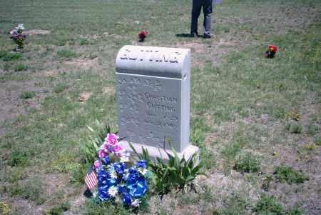 GUTTING, CHRISTIAN GEORJ - Yuma County, Colorado   CHRISTIAN GEORJ GUTTING - Colorado Gravestone Photos