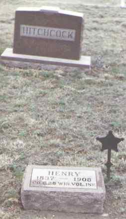 HITCHCOCK, HENRY - Yuma County, Colorado   HENRY HITCHCOCK - Colorado Gravestone Photos