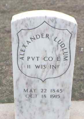 LUDLUM, ALEXANDER - Yuma County, Colorado | ALEXANDER LUDLUM - Colorado Gravestone Photos