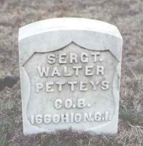 PETTEYS, WALTER - Yuma County, Colorado   WALTER PETTEYS - Colorado Gravestone Photos