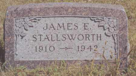 STALLSWORTH, JAMES E - Yuma County, Colorado | JAMES E STALLSWORTH - Colorado Gravestone Photos