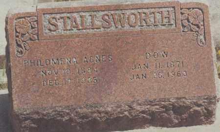 STALLSWORTH, WILLIAM DOW - Yuma County, Colorado | WILLIAM DOW STALLSWORTH - Colorado Gravestone Photos