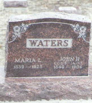 WATERS, MARIA L. - Yuma County, Colorado | MARIA L. WATERS - Colorado Gravestone Photos