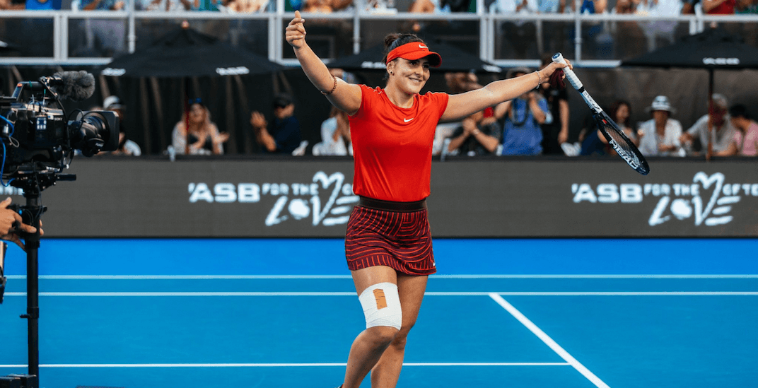 Canadian Bianca Andreescu reaches final at ASB Classic