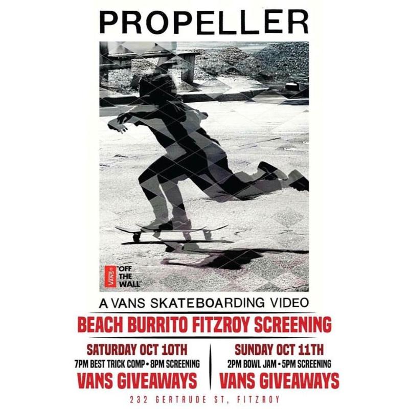 Vans Propeller at Beach Burrito