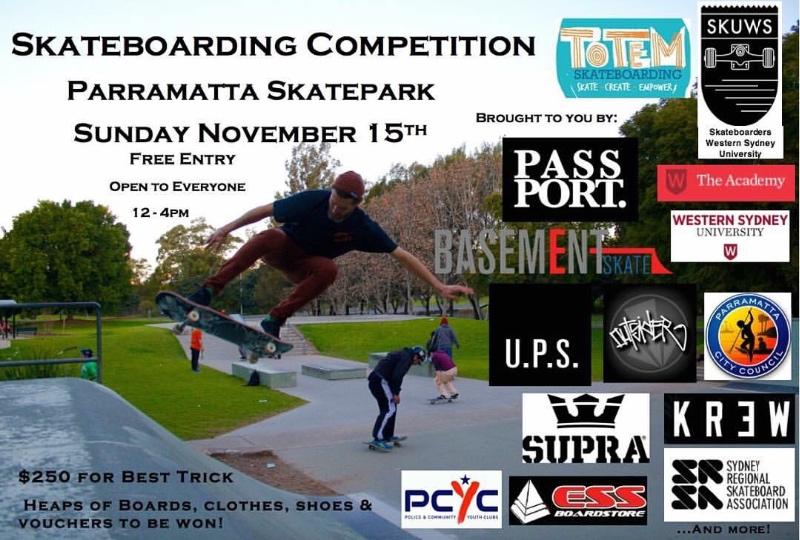 Parramatta Skate Comp