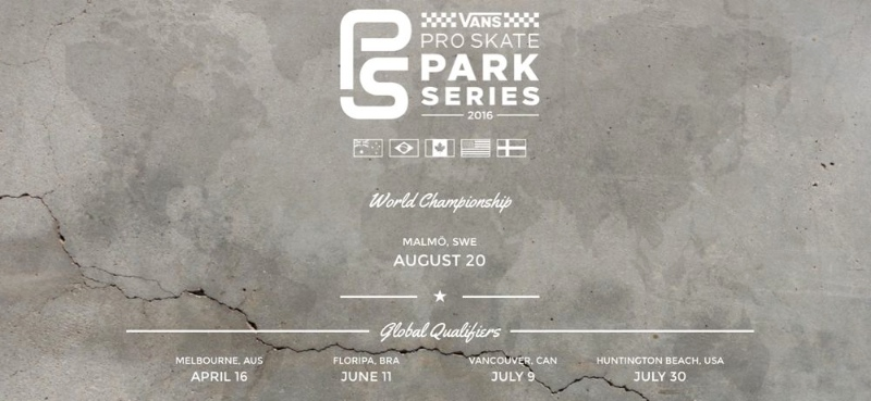 Vans Pro Skate Park Series