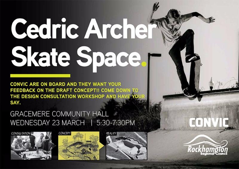 Cedric Archer Skate Space, Rockhampton