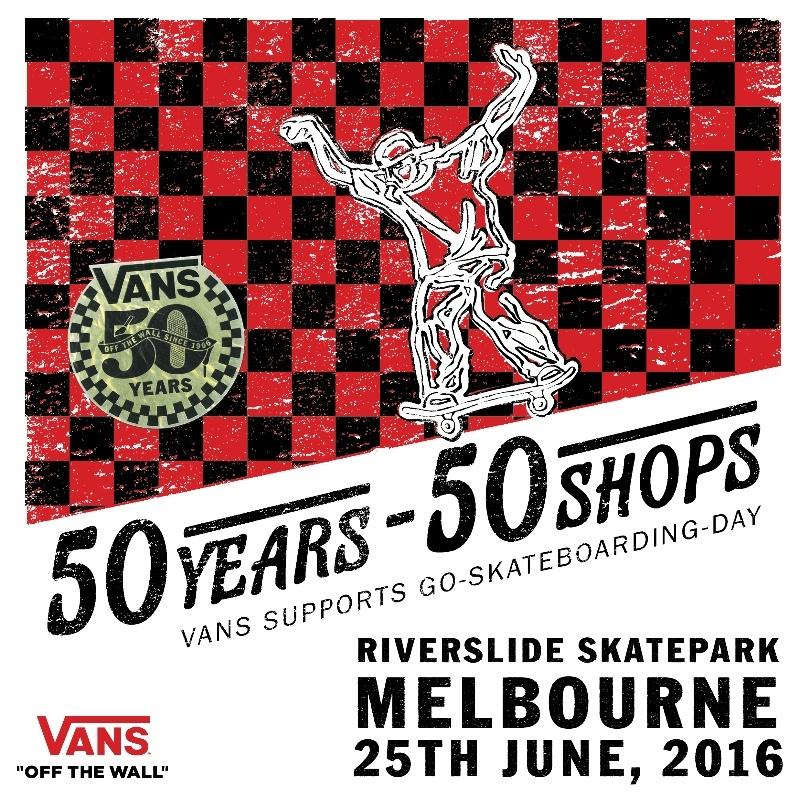 RE: Vans Go Skateboarding Day 2016
